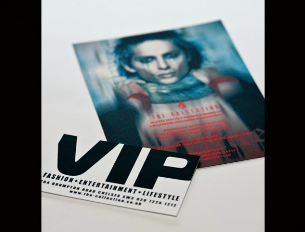 The Collection Halloween and VIP card