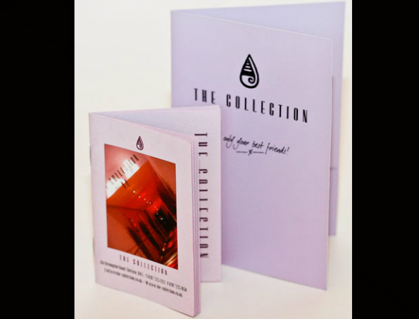 The Collection card and booklet website photo
